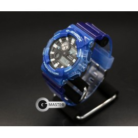 Casio G-Shock GAX100A Series Dial Multi-Dimensional Analog Digital Men's Watch blue one size