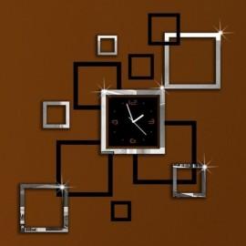 Creative DIY 3D Artistic Wall Clock Living Room Fa..