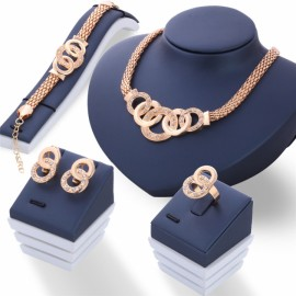 5 piece/Set New alloy Necklace Pendant Earring Stu..