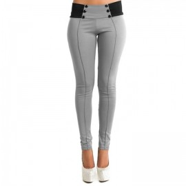 Fashion Women Casual Stretch Skinny Leggings Penci..