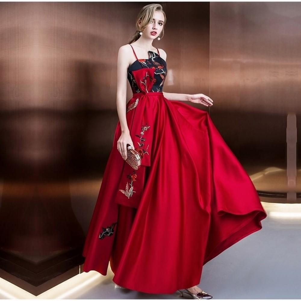 2018 XS3 plus size formal women mother of the bride engagement wedding guest elegant evening dres