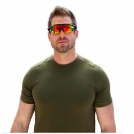 HD Car Driving Sunglasses Night Vision Wrap Around..