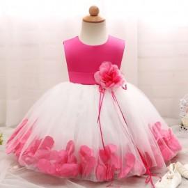 2018 Baby Girl Wedding Veil Dresses Kids's Party W..