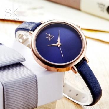 Ladies Watches For Women Watch Women Top Brand Luxury Leather Square Clock relogio feminino saat white