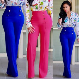 Women's fashion New flared trousers slim personali..