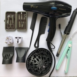 Hairdryer 2200W Professional Electric Hair Dryer B..