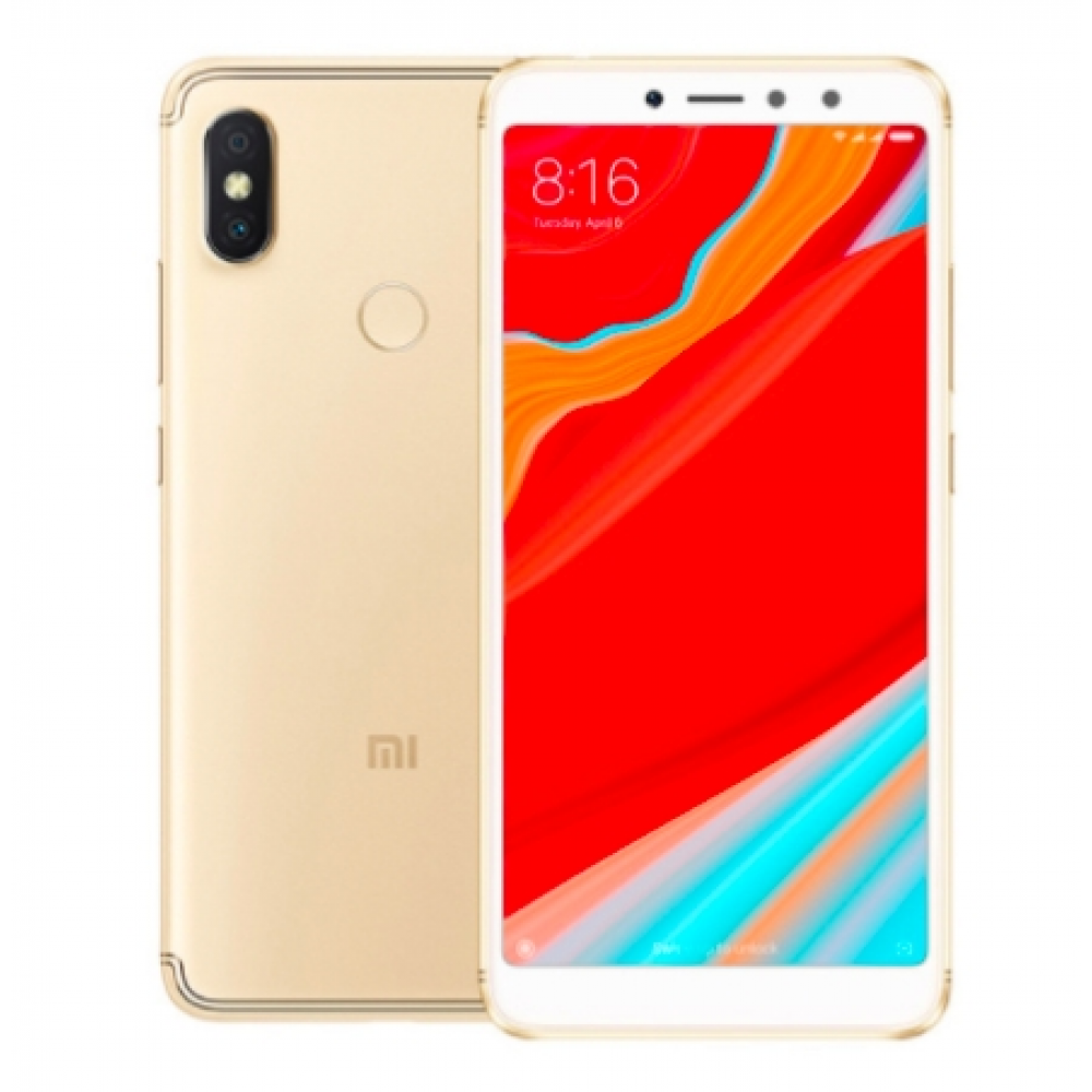 "Xiaomi Redmi S2 32GB 3GB S 2 Smartphone Snapdragon 625 Octa Core 5.99"" 18:9 Screen Dual Camera golden"
