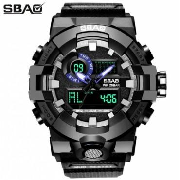 M&J Quartz Black Vogue Business Military Man Men's watches 3ATM waterproof sport watch style 2 normal