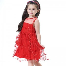 3-12T Lace Princess Dress Children's Dress Kids we..