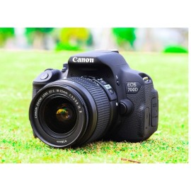 Canon 700D DSLR Camera with 18-55mm Lens Household..