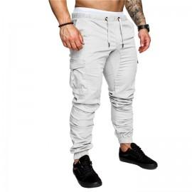 Pencil Cargo Casual Mens Trousers Pants Hip Hop Sk..