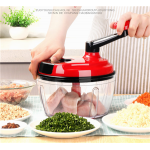 1.5L Kitchen Meat Grinder Vegetable Chopper Household Manual Baby Ingredients Mincer Multifunction as the picture normal