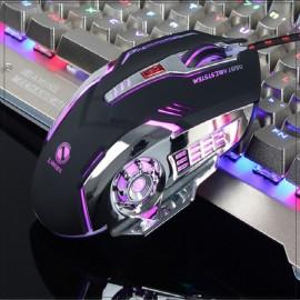 V2 LED Backlight 4 DPI Transmission USB Wire Mouse..