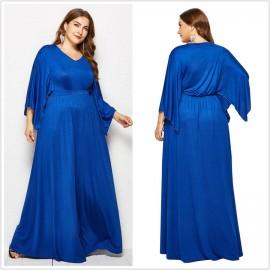 Best Selling Plus Size Women's Dress XL-4XL Bat St..