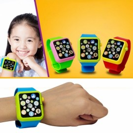 Children Kids Early Education Toy Wrist Watch 3D T..