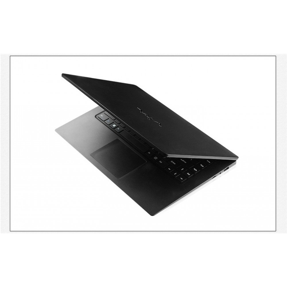 15.6-inch laptop 1080P Ultra-thin fashion computer 2GB+32GB~6GB+512GB SSD black 6+256GB