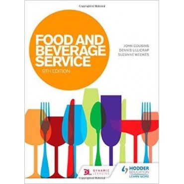 Food and Beverage Service 9th  by Lillicrap, Cousins, Hodder Arnold