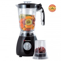 Binatone BLG-555(MK2) Blender 1.5 Litres-2 Pulse Speed-Unbreakable Jug. Top World Class Brand Black