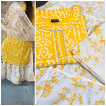 Bandhezzz Kurtha  Set