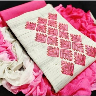 Top Heavy Khadi Cotton Lehriya