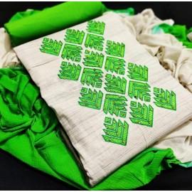 Heavy khadi Cotton Kurthi Lehriya