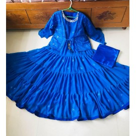 Kotti Designer wear heavy gown work Kotti