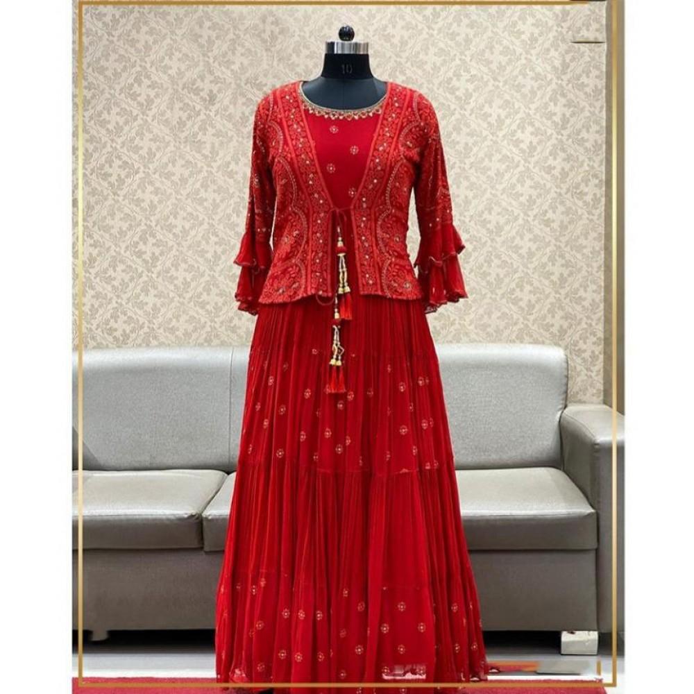 Koti Designer heavy wear work Gown