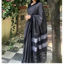 Elegant Cotton Saree with Blouse