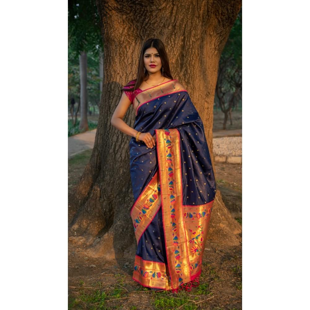 Paithani Design Saree