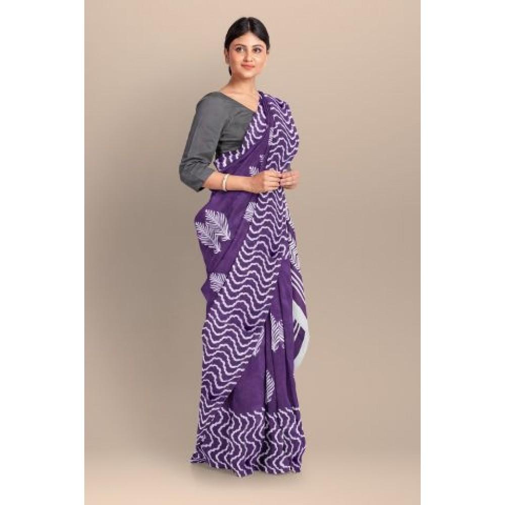 Saree Pure Soft Cotton MulMul Collection