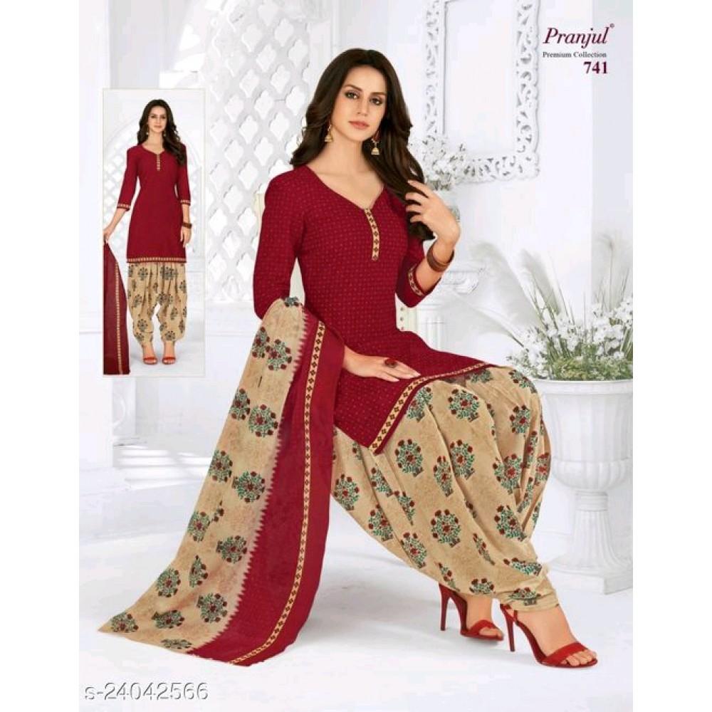 Aagam Attractive Churidhar Set