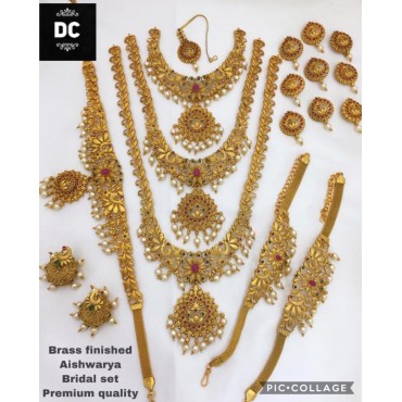 Bridal Set Combo Necklaces