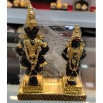 Gold plated Vittal and Rukmini