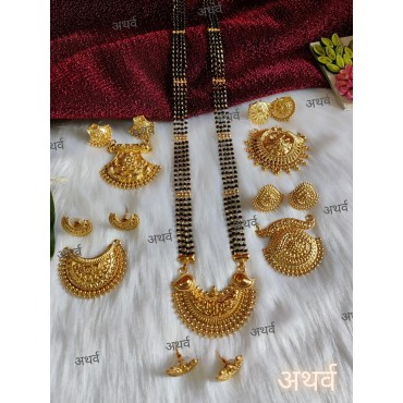 Mangalsutra Chain with Combo set