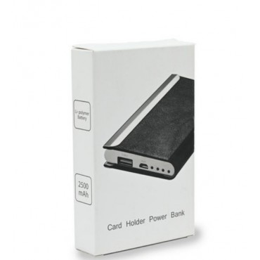 Power Bank Portable with Card holder