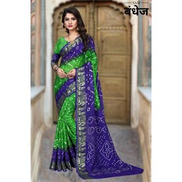 Saree Bandhani