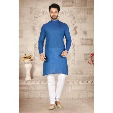 Shahensha Side Neck  Kurta Pajama