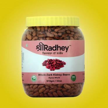 Whole dark Kidney beans